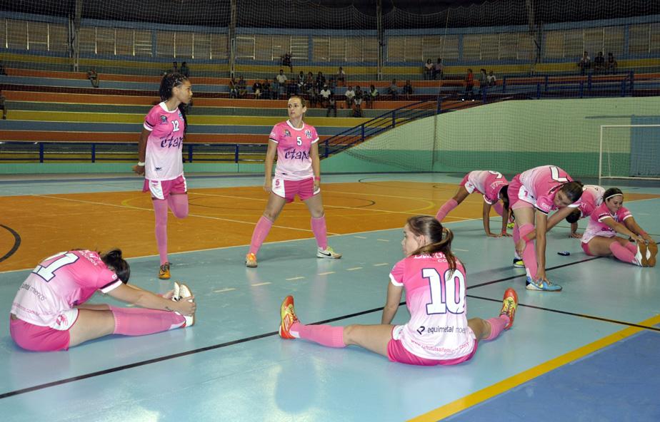 4c78f4a53f A seleção feminina de futsal da Prefeitura de Jahu joga nesta quinta-feira ( 23 04) no Ginásio de Esportes Dr. Flávio de Mello. Jaú enfrenta Ibitinga às  21h